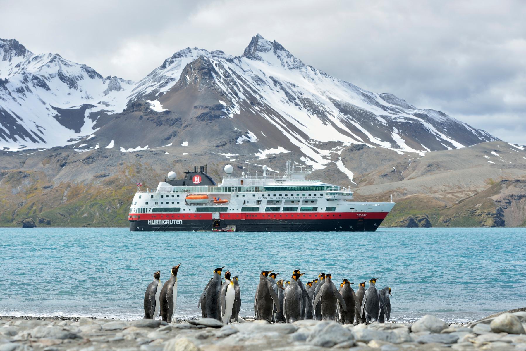 rejser til antarktis