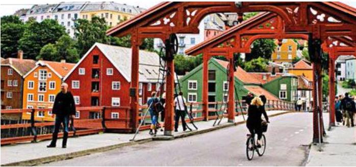 3H Cykeltur i Trondheim - Ruby Rejser