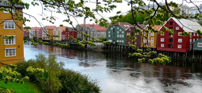 3D Trondheim bydvandring - Ruby Rejser