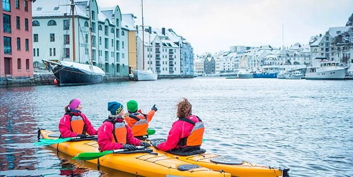 2K Kajaktur i Ålesund