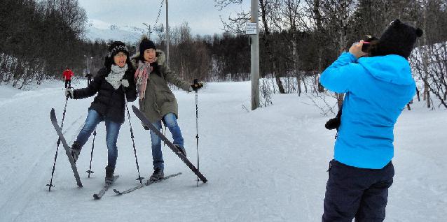 Langrendstur i Tromsø