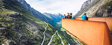 Udflugter til rejsen med Hurtigruten