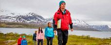 4B Vandretur ved arktisk kyst