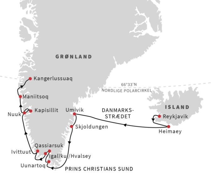 Grønland og Island med Hurtigruten - Ruby Rejser