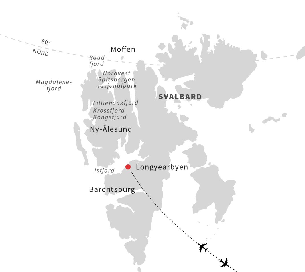 Nordlysrejse til Svalbard og Longyearbyen - Travelnorth - en del af Ruby Rejser