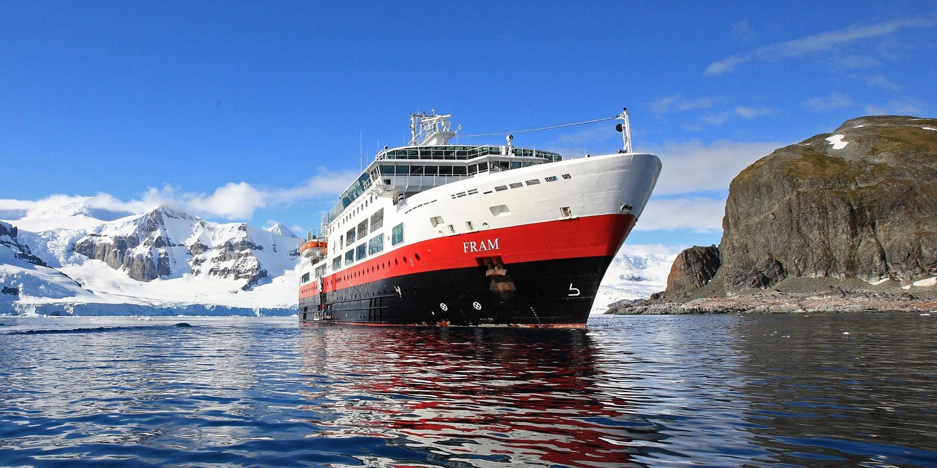 MS Fram - Hurtigruten - Ruby Rejser